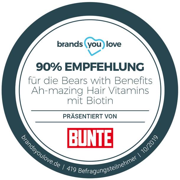 brands you love-Siegel für Bears with Benefits