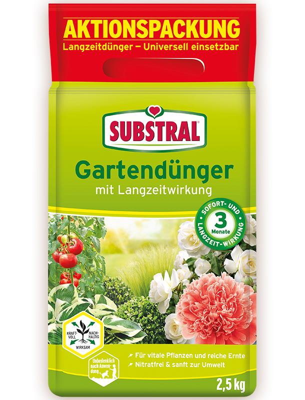 SUBSTRAL Gartenduenger kostenlos testen