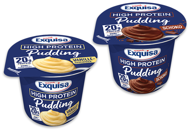 Exquisa High Protein Pudding