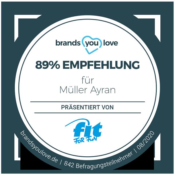 brands you love Siegel Müller Ayran