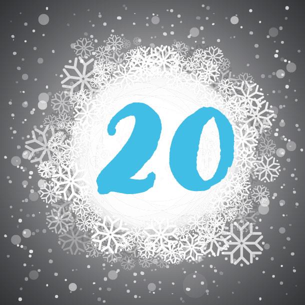 Adventskalendertürchen Nummer 20