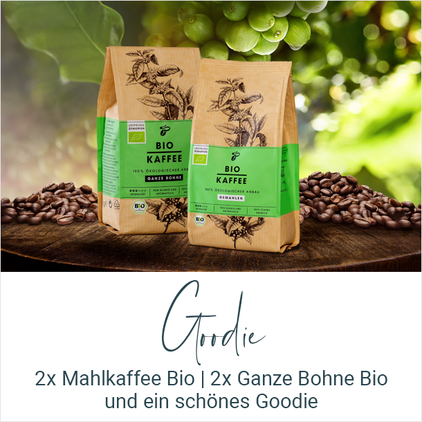 Goodie Tchibo Bio Kaffee