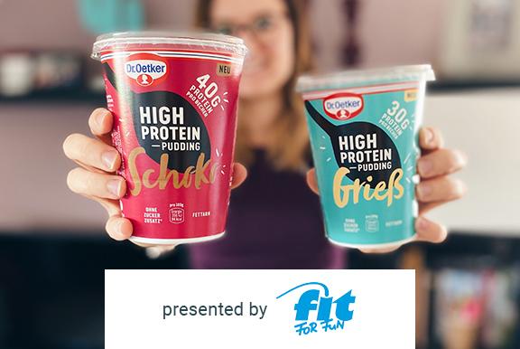 Dr. Oetker High Protein Pudding kostenlos