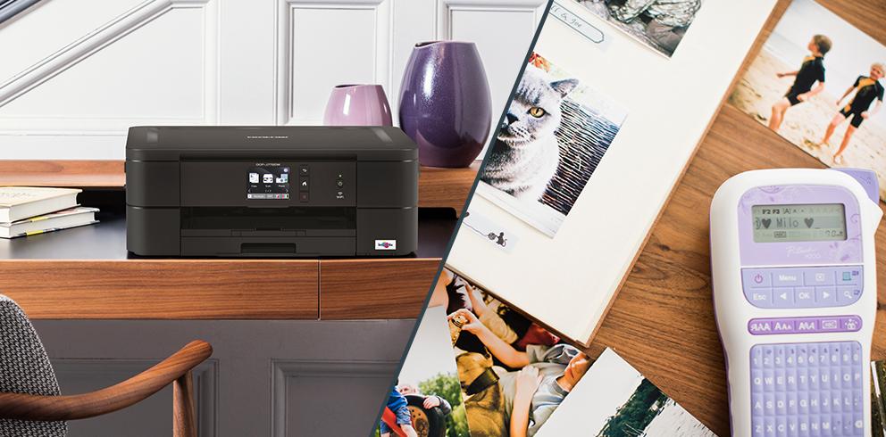 Brother Drucker und Beschriftungsgeräte kostenlos testen