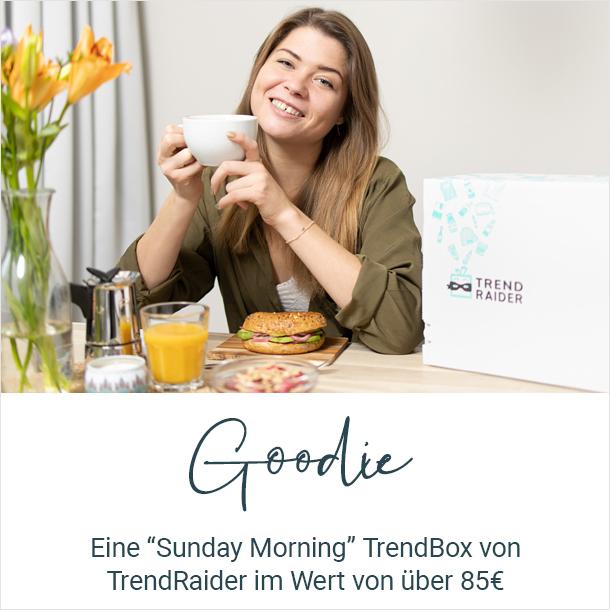 """Goodie: TrendBox """"Sunday Morning"""" von TrendRaider"""