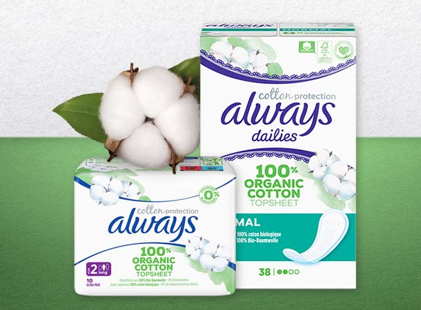 Always Cotton Protection kostenlos testen