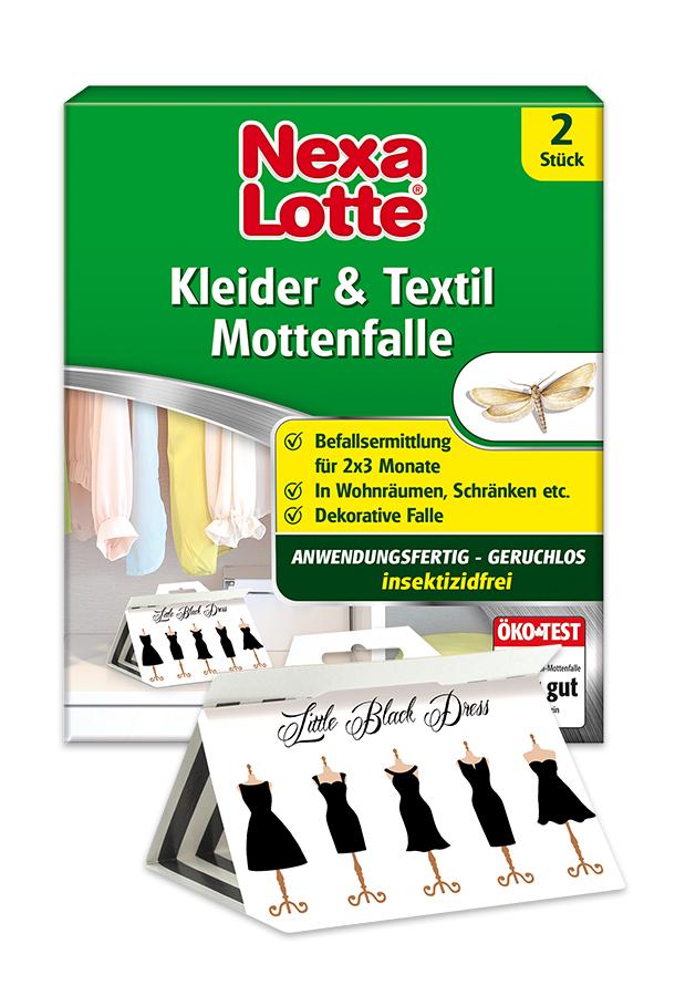Kleider & Textil Mottenfalle
