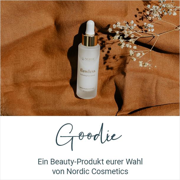 Goodie: Ein Beauty-Produkt der Wahl von Nordic Cosmetics