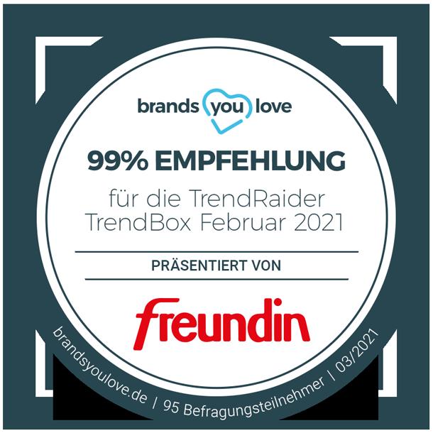 brands you love Siegel TrendRaider TrendBox Februar 2021