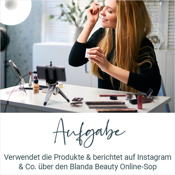 Aufgaben der Blanda Beauty Influencer