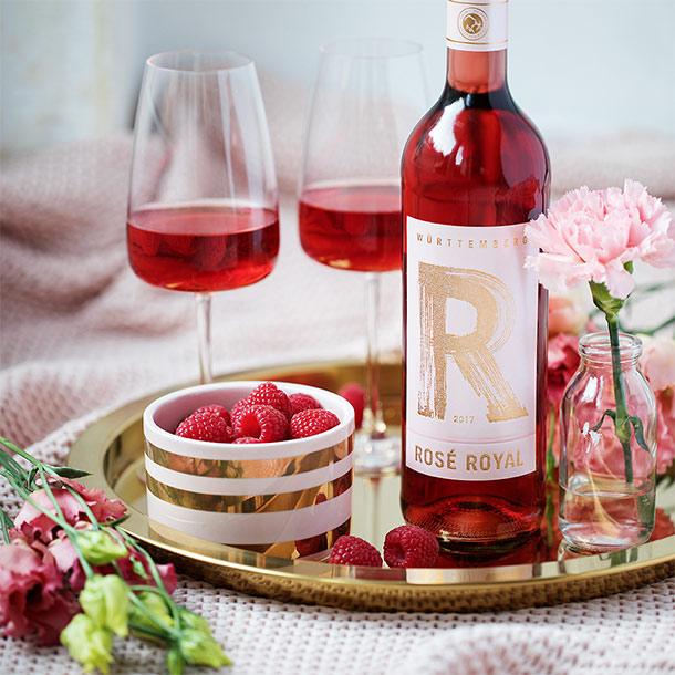 Rosé Royal der Württemberger Weingenossenschaften