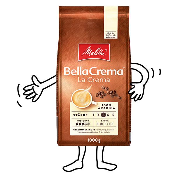 Melitta® BellaCrema® laCrema