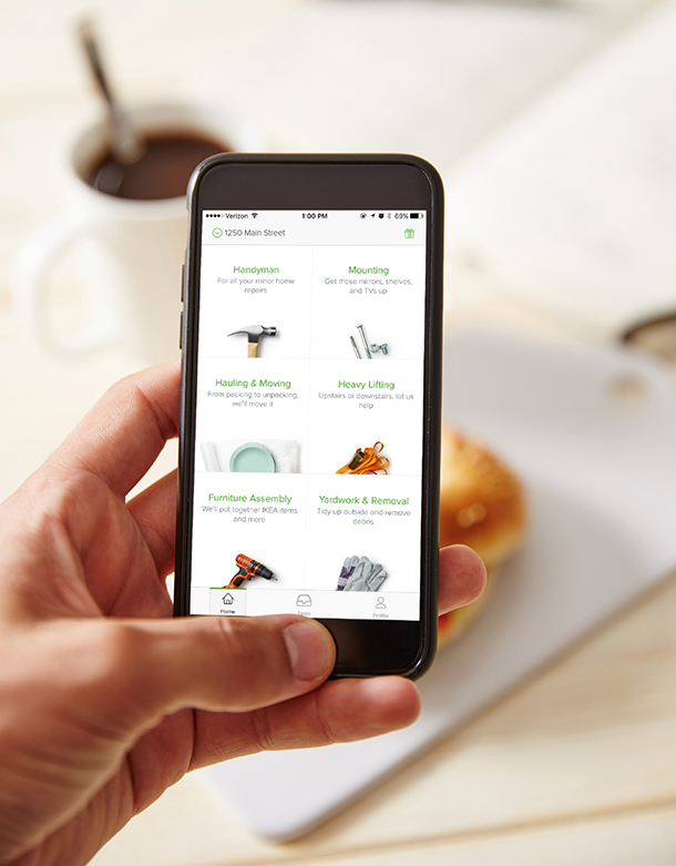Task Rabbit bequem per Smartphone benutzen