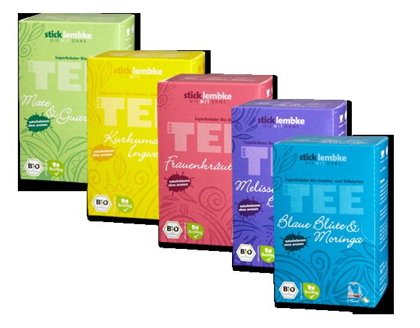 sticklembke Superkräuter Bio-Tees