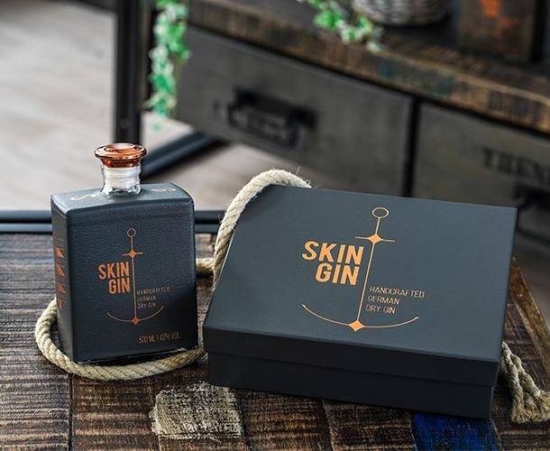 Skin Gin Anthracite Grey Edition