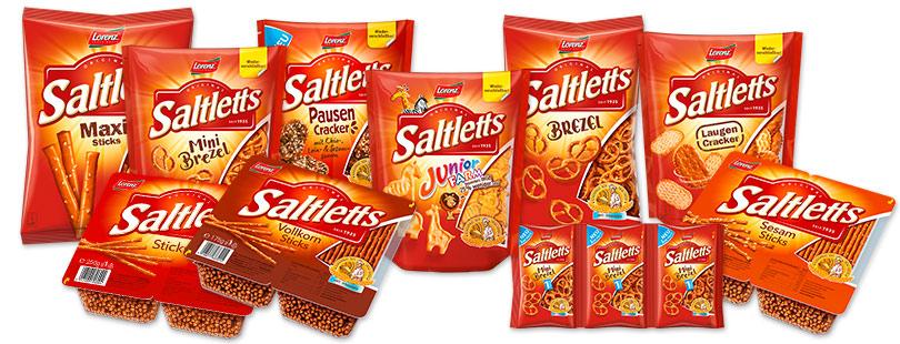 Saltletts Snack-Paket