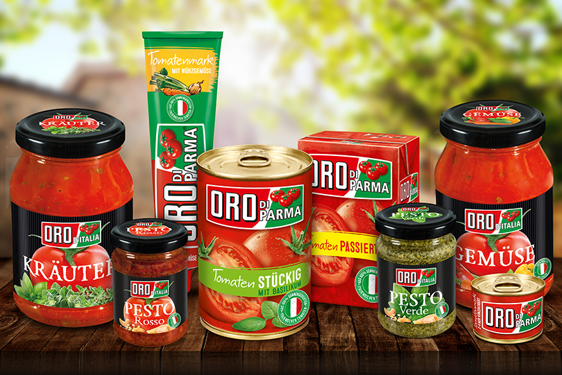 Die ORO di Parma Produkte für die brands you love Tester