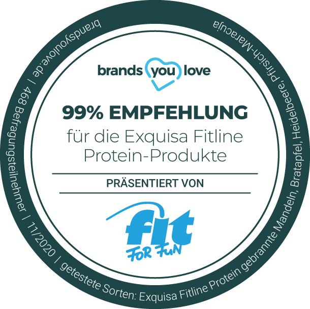 brands you love Siegel Exquisa Fitline Protein-Produkte