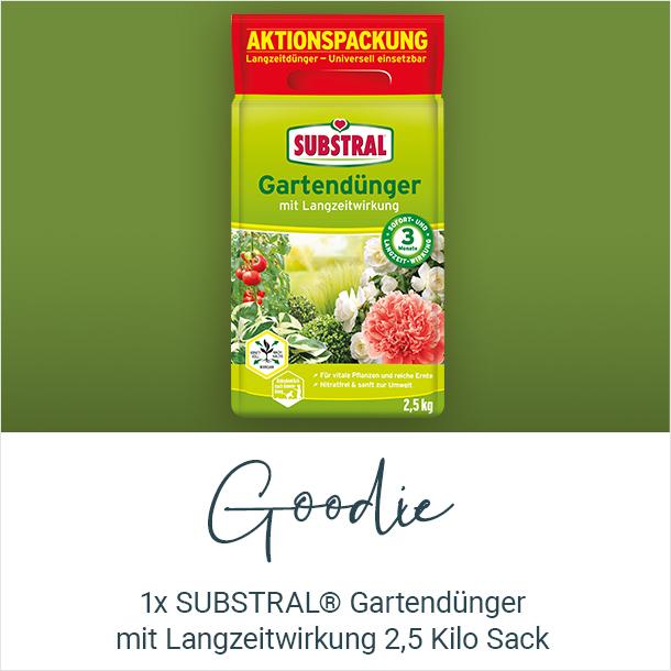 Goodie: SUBSTRAL Gartenduenger mit Langzeitwirkung