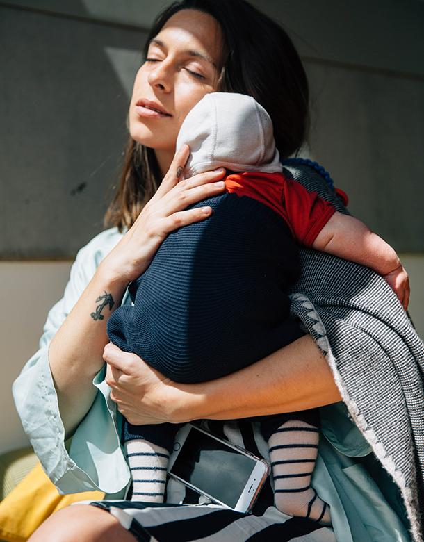 Yara Jentzsch Dib mit Baby