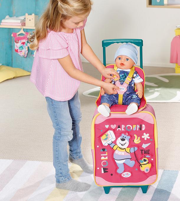 BABY born® Holiday Trolley mit Puppensitz