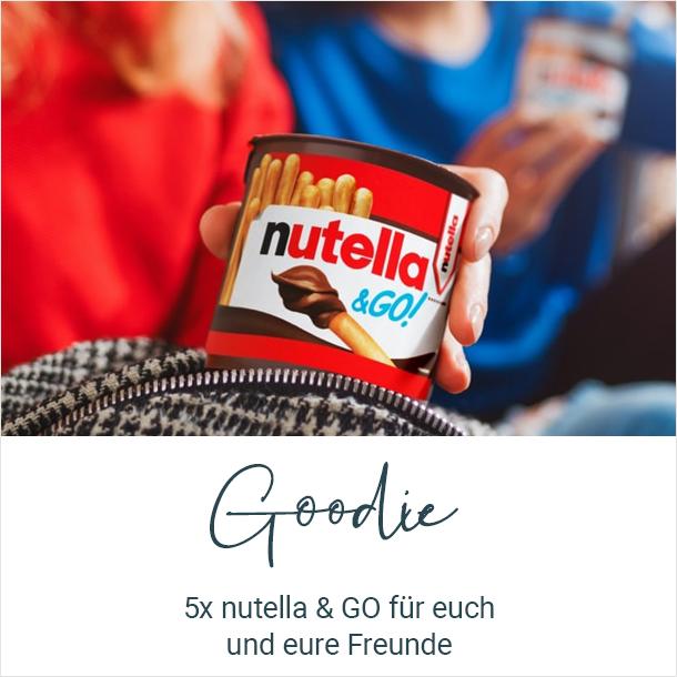 Goodie: 5x nutella & GO für dich und deine Freunde kostenlos