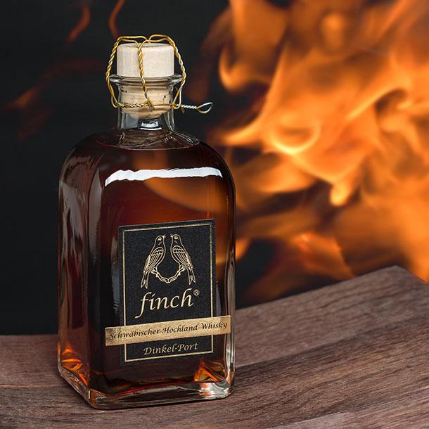 finch® Schwäbischer Hochland Whisky Dinkel Port 0,5l Gewinnspiel