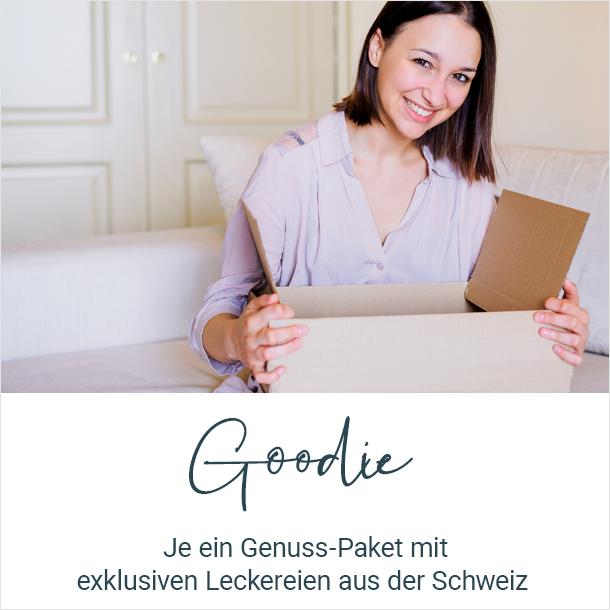 Goodie: Ein Genuss-Paket mit Produkten aus der Schweiz
