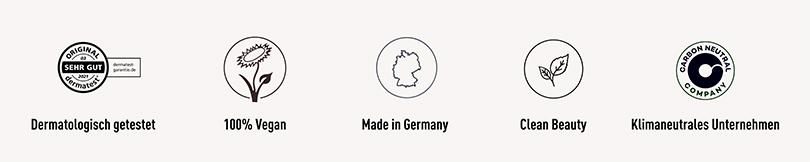 DAYTOX: dermatologisch getestet, 100% vergan, Made in Germany, Clean Beauty, klimaneutral