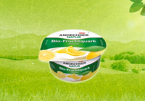 ANDECHSER NATUR Bio-Fruchtquark Zitrone