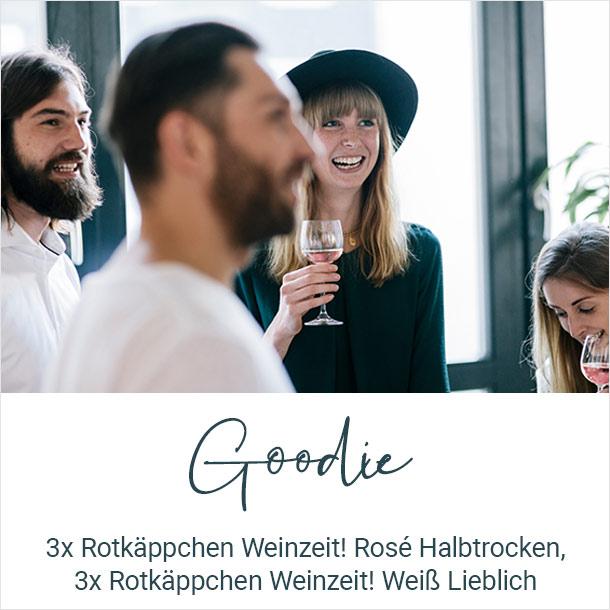 Goodie: 3x Rotkäppchen Weinzeit! Rosé Halbtrocken, 3x Rotkäppchen Weinzeit! Weiß Lieblich