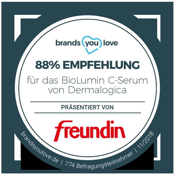 brands you love-Siegel für Dermalogica BioLumin-C Serum