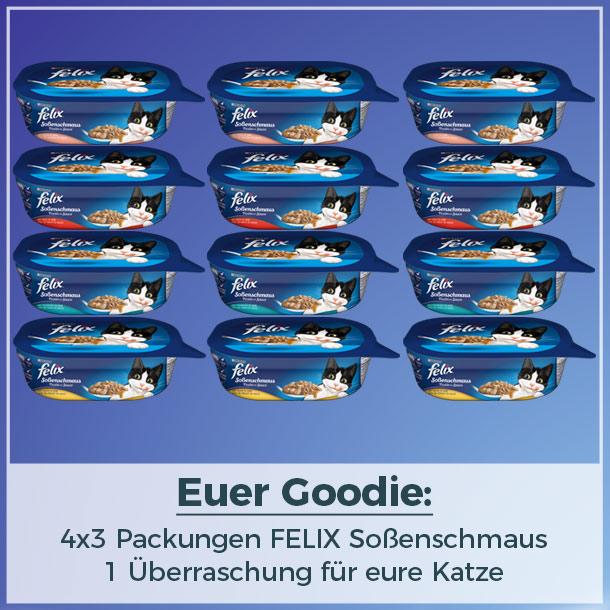Goodie als Fotobotschafter für FELIX Soßenschmaus