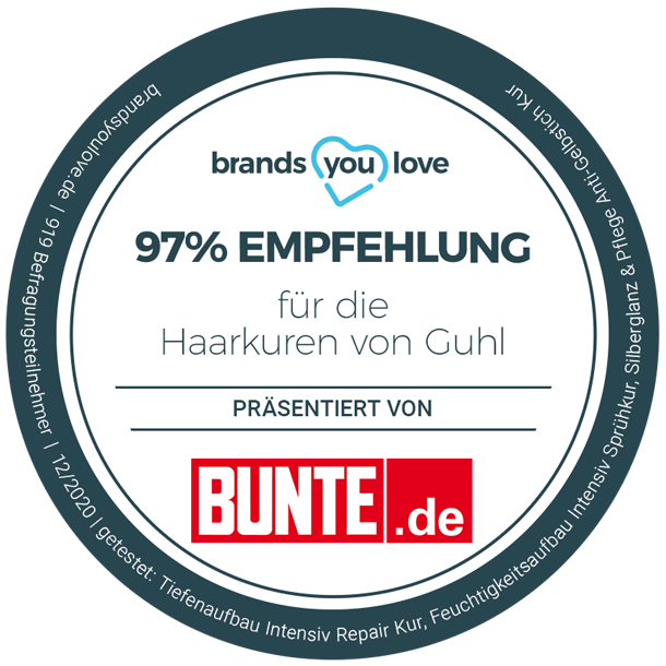 brands you love-Siegel Guhl Haarkuren