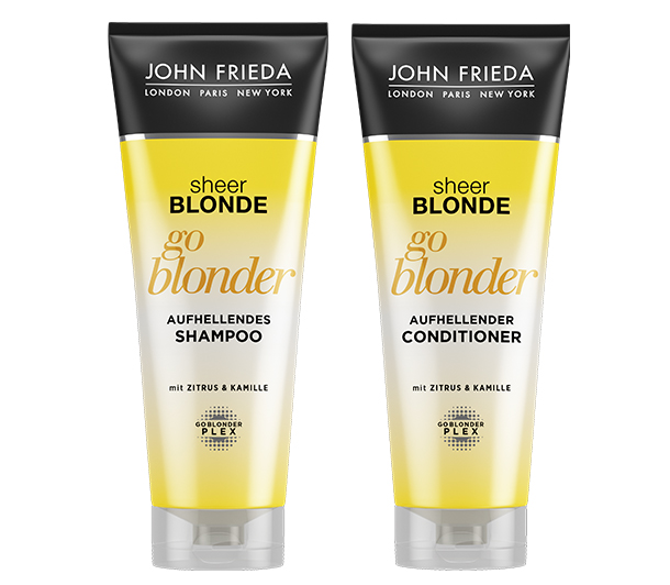 Go Blonder Shampoo und Conditioner