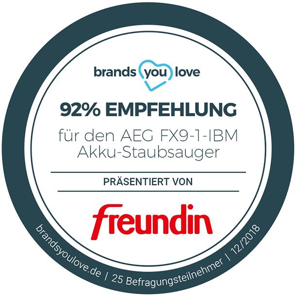 Empfehlungssiegel brands you love