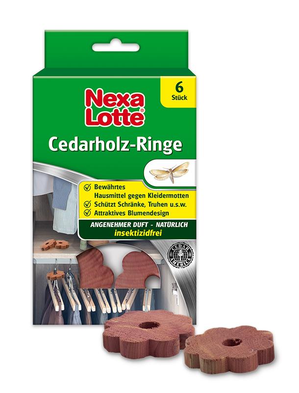 Cedarholz-Ringe