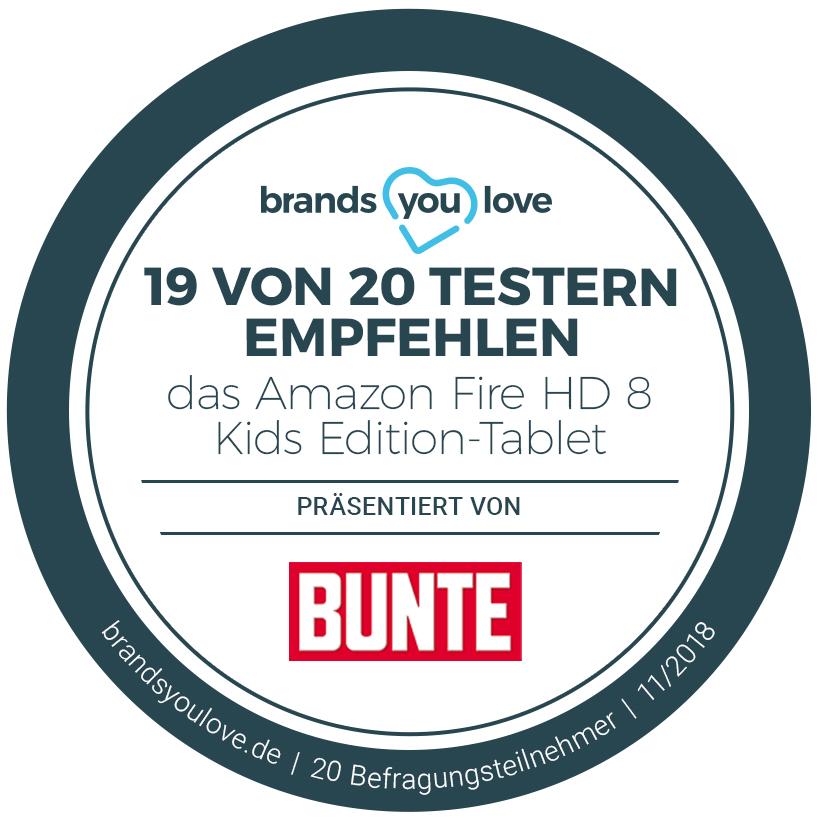 brands you love-Siegel für das Amazon Fire HD 8 Kids Edition-Tablet