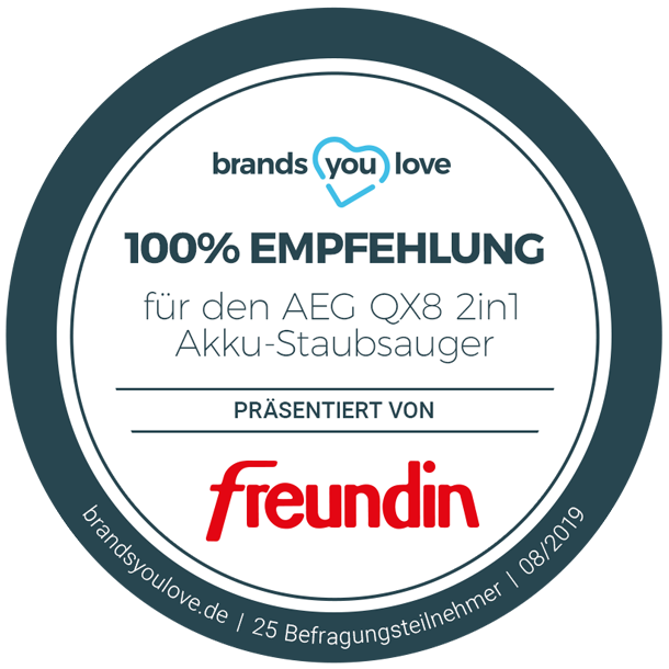 brands you love Siegel AEG QX8