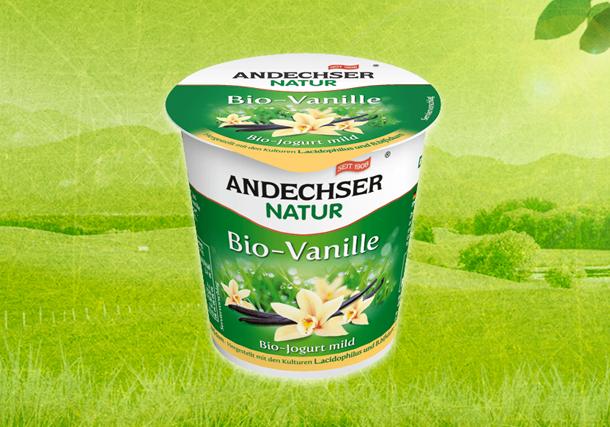 ANDECHSER NATUR Bio-Jogurt mild Vanille