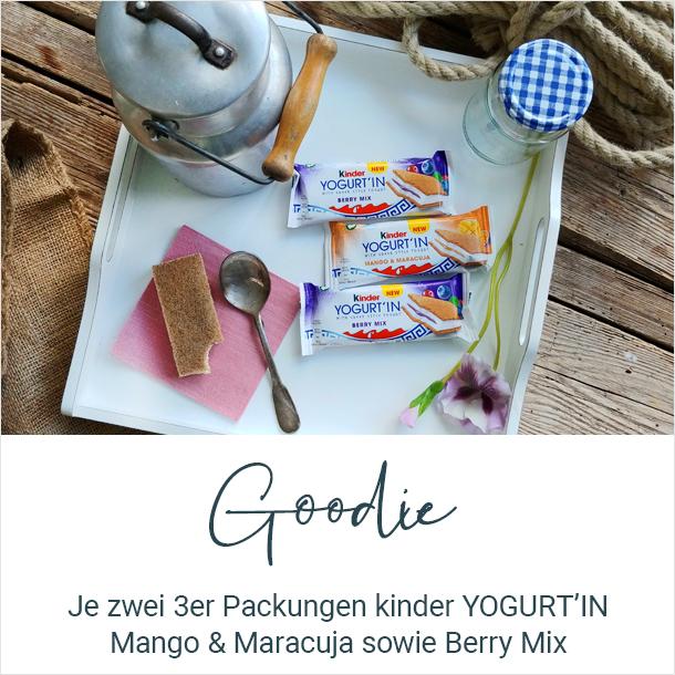 Goodie der brands you love-Tester 2x 3er Pack kinder YOGURT'IN