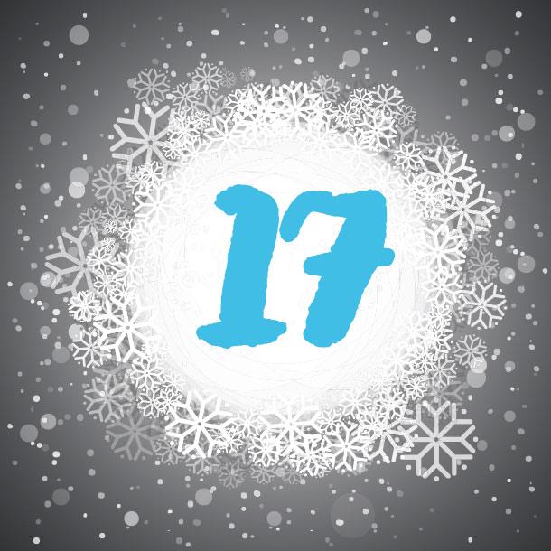 Adventskalendertürchen Nummer 17