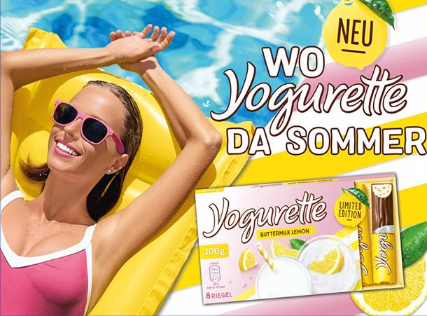 """wo Yogurette da Sommer"" von Ferrero"