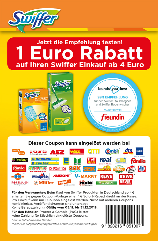 Produkttest Swiffer Staubmagnet Und Bodenwischer Sets Brands You