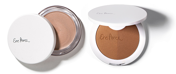 Paket Make-up 1 Ere Perez Vanilla Highlighter Falling Star Ere Perez Rice Powder Blush & Bronzer Roma