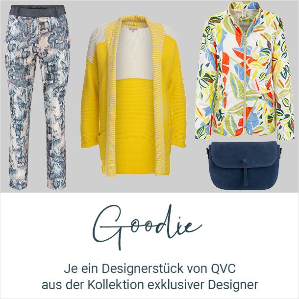 Goodie: Je ein Deisgnerstück von QVC aus der Kollektion exklusiver Designer