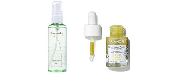 Paket Skincare 1 La Canopée - Antioxidant Super Plants Serum Sandawha - Camellia Flower Hydrating Mist