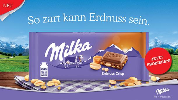 Milka Schokolade Verpackung