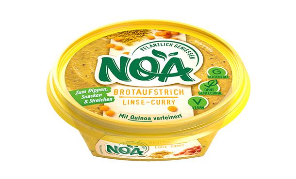 NOA AufstrichLinse-Curry