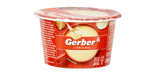 Gerber Käsefondue